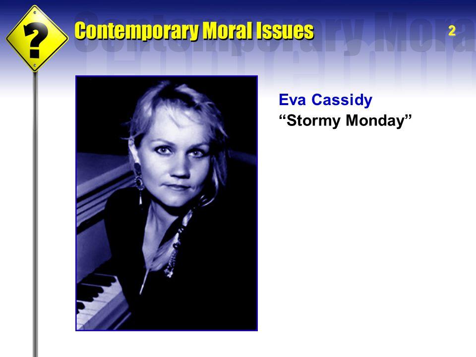 "2 Eva Cassidy ""Stormy Monday"""
