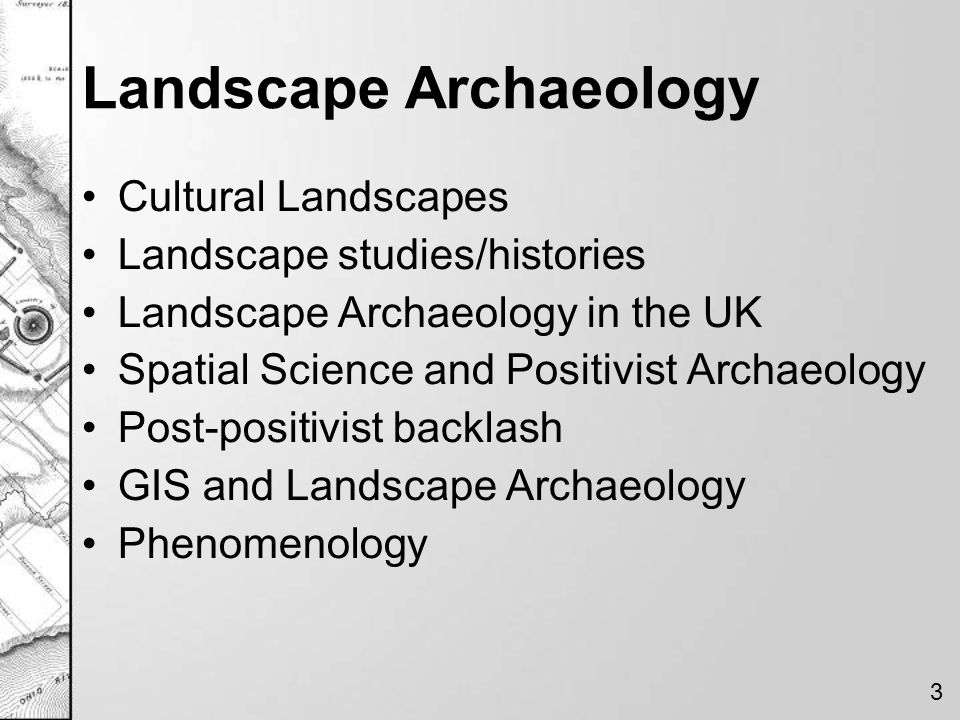 Tilley's Experience of Landscape Tilley (1994) –Phenomenology of Landscape –link between the individual and the landscape Based on the Phenomenology of Heidegger –Filtered through Tuan –Personal, visual perspective of the landscape 4