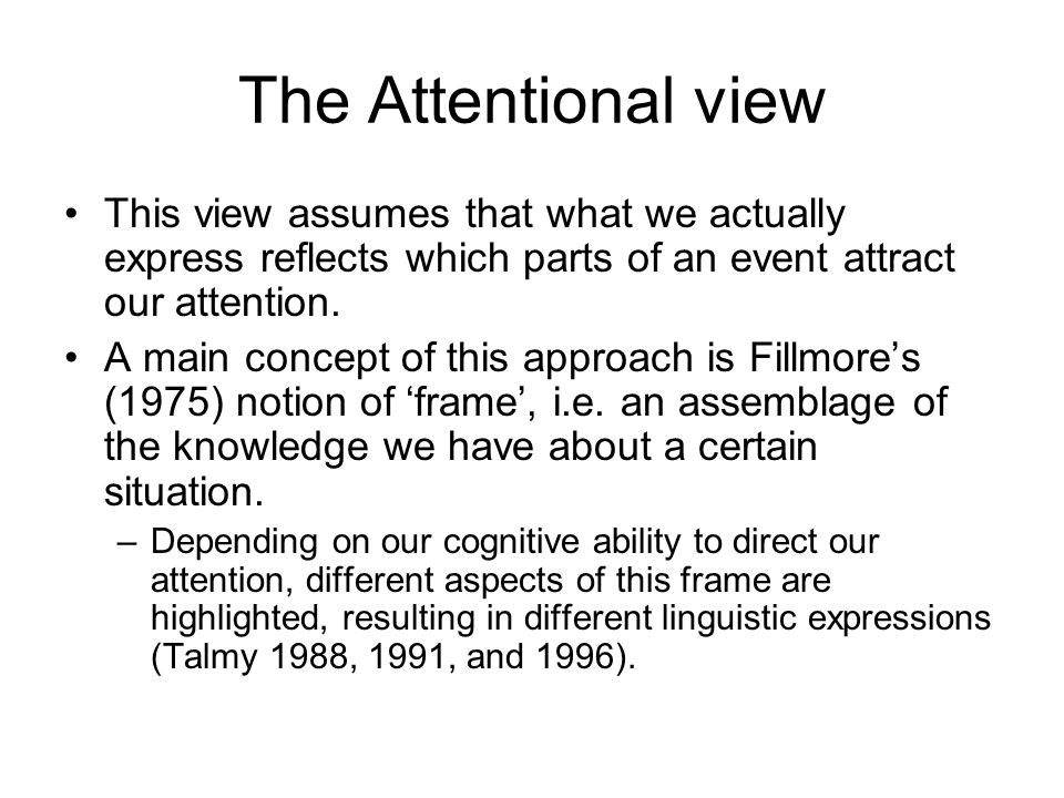The Tenets to Follow in Cognitive Linguistics –The design features of languages, and our ability to learn and use them are accounted for by general cognitive abilities, kinaesthetic abilities, our visual and sensimotor skills and our human categorisation strategies, together with our cultural, contextual and functional parameters (Barcelona 1997: 8).