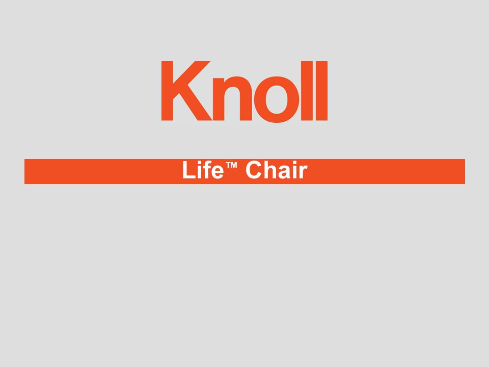 Life ChairVisual Life with A3 ™