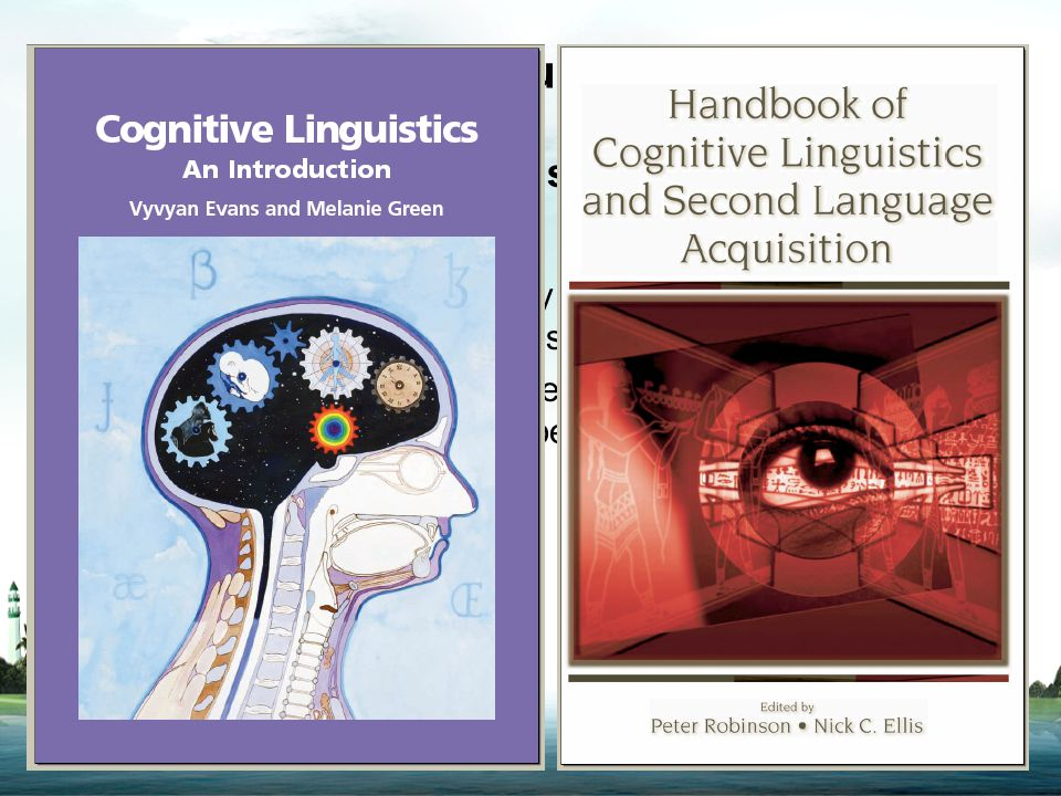 Introduction What is cognitive linguistics? -- Cognitive linguistics: the study of the relationship between language and cognitive processing in the h