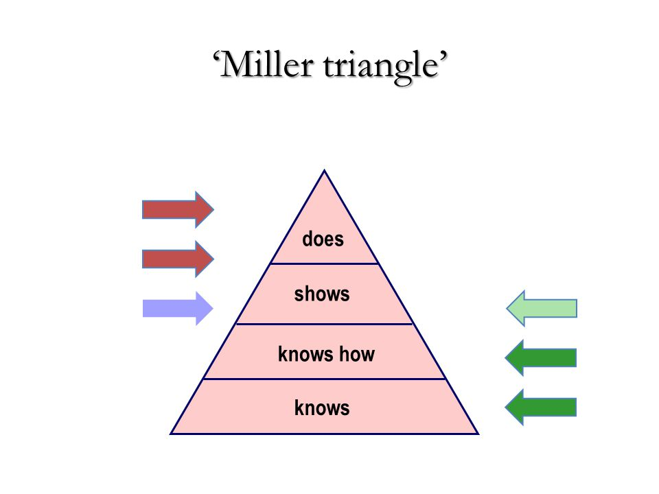 knows knows how shows does 'Miller triangle'