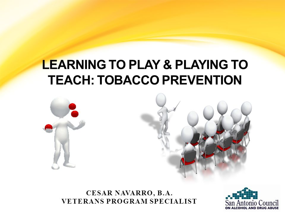 APPLICATION OF TOBACCO PREVENTION INFORMATION IN ALTERNATIVE ACTIVITIES Know your information.