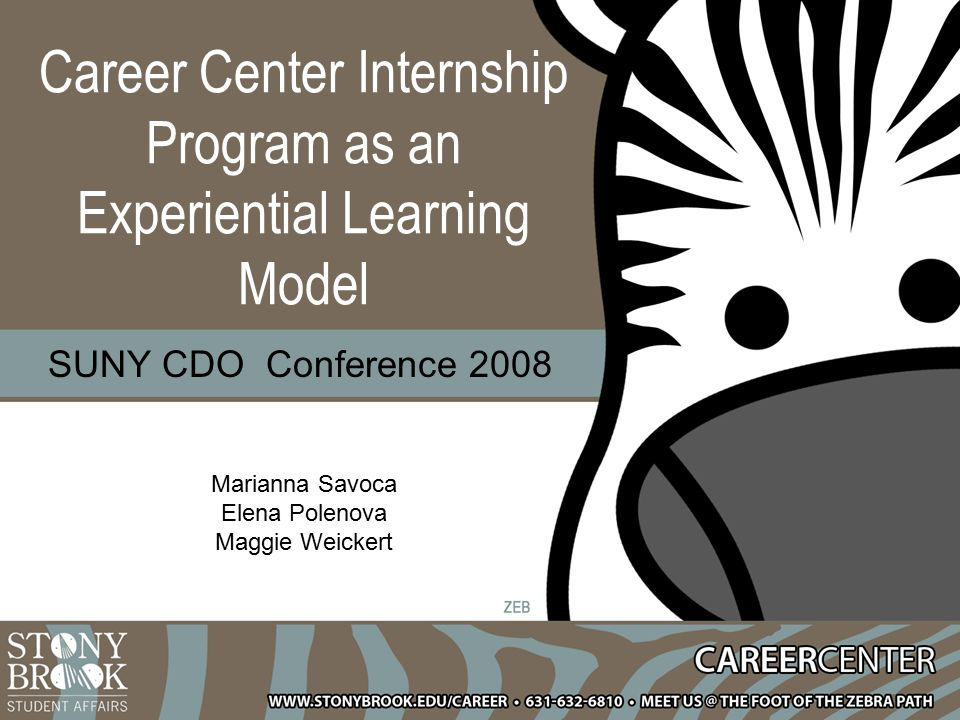 The Career Center has been a nurturing environment where I could explore my specific interests in the broad field of human resources.
