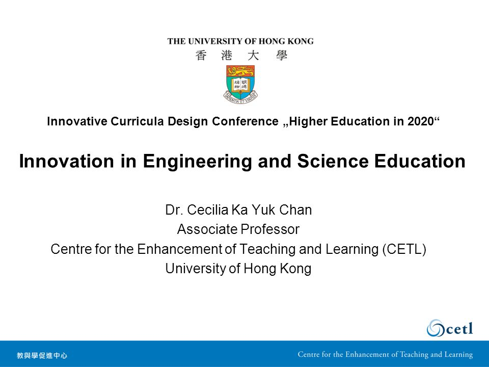 Innovation in Engineering and Science Education Dr.