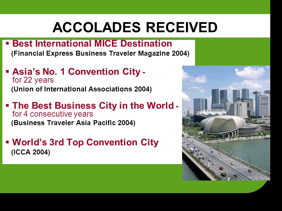 THE SECB STRUCTURE Assistant Chief Executive (ACE)'s Office Strategic Development & Communications Division Strategic Clusters I & II Divisions Industry Development Division Business Events Development Division