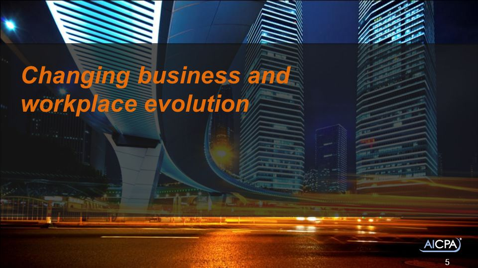 Changing business and workplace evolution 5