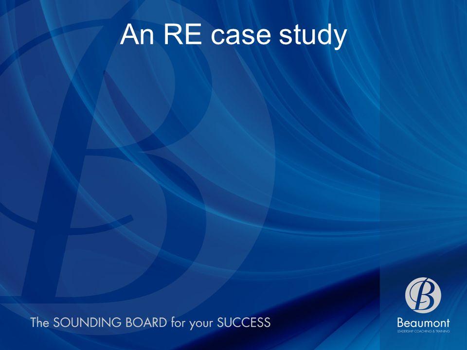 An RE case study