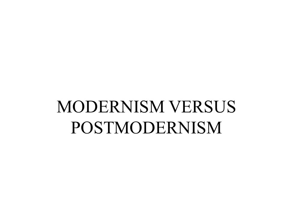 Modernism: an artistic (and sometimes an academic) movement that represents a wide range of experimental and avant-garde trends in the literature.