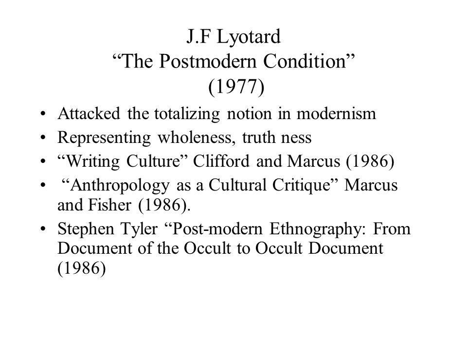 MODERNISM VERSUS POSTMODERNISM