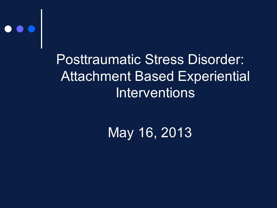 Symptoms of PTSD T rauma – exposure to a traumatic event that evoked intense fear, helplessness, horror R e-experiencing – intrusive recollections, traumatic dreaming, flashbacks A voidance – of others, stimuli connected to trauma P hysiological arousal – exaggerated startle response, hypervigilance