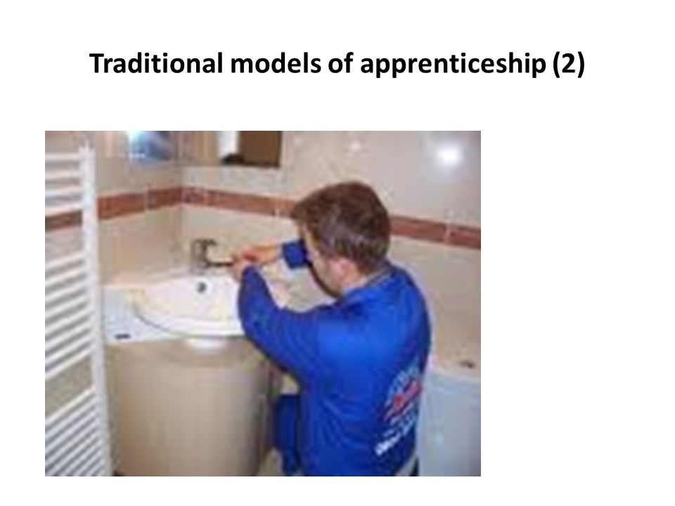 Traditional models of apprenticeship (2)