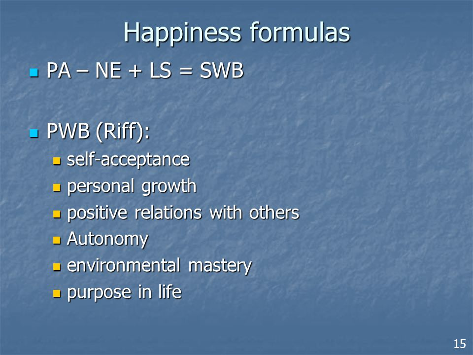 The dimensions of human live Existence (being) Agency (doing) External Internal 20