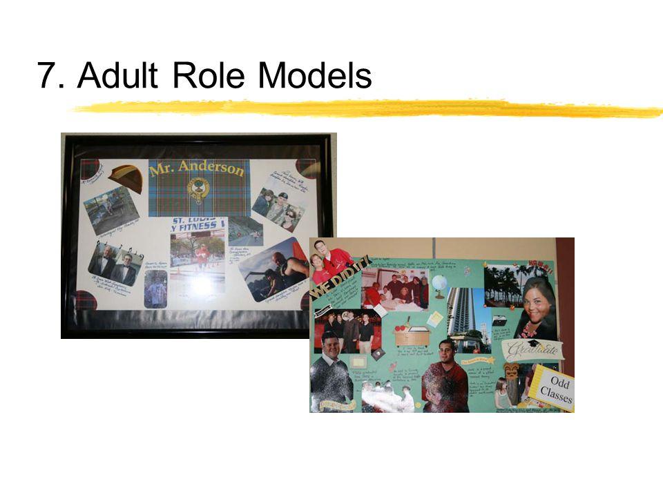 7. Adult Role Models