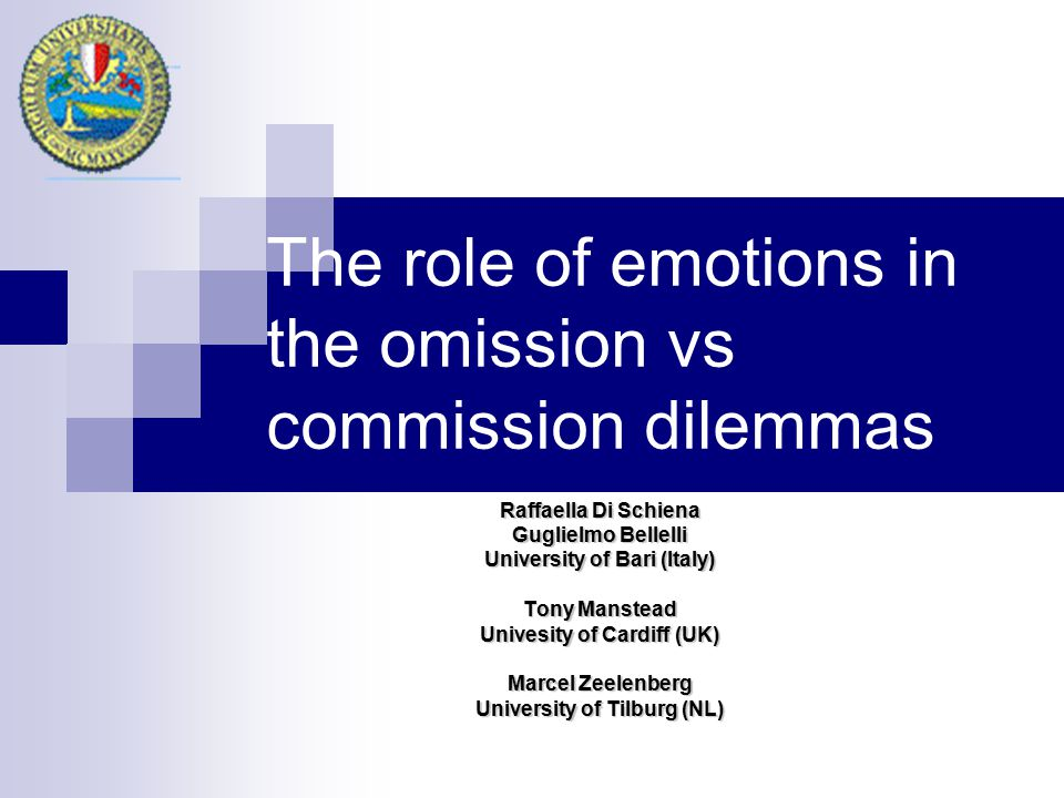  Decision making as emotion focused coping (Luce, 1998): When facing a risky decision, Ss are motivated to cope with negative emotions the risk evokes, and this can push them into acting paradoxically… Sometimes this could bring about OB… But… coping goals are mediated by subjects' beliefs Ss' beliefs that physician or health-care system is trustworthy can interact with the effect of emotion (Benin et al., 2006).