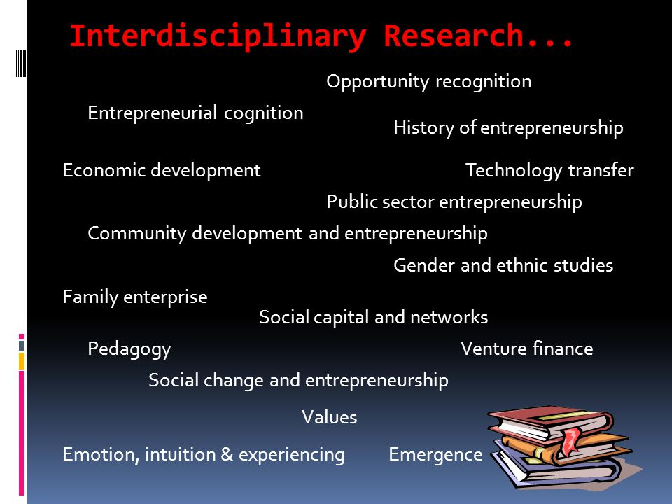 Interdisciplinary Research...