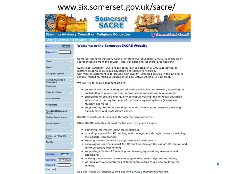 www.six.somerset.gov.uk/sacre/ 4