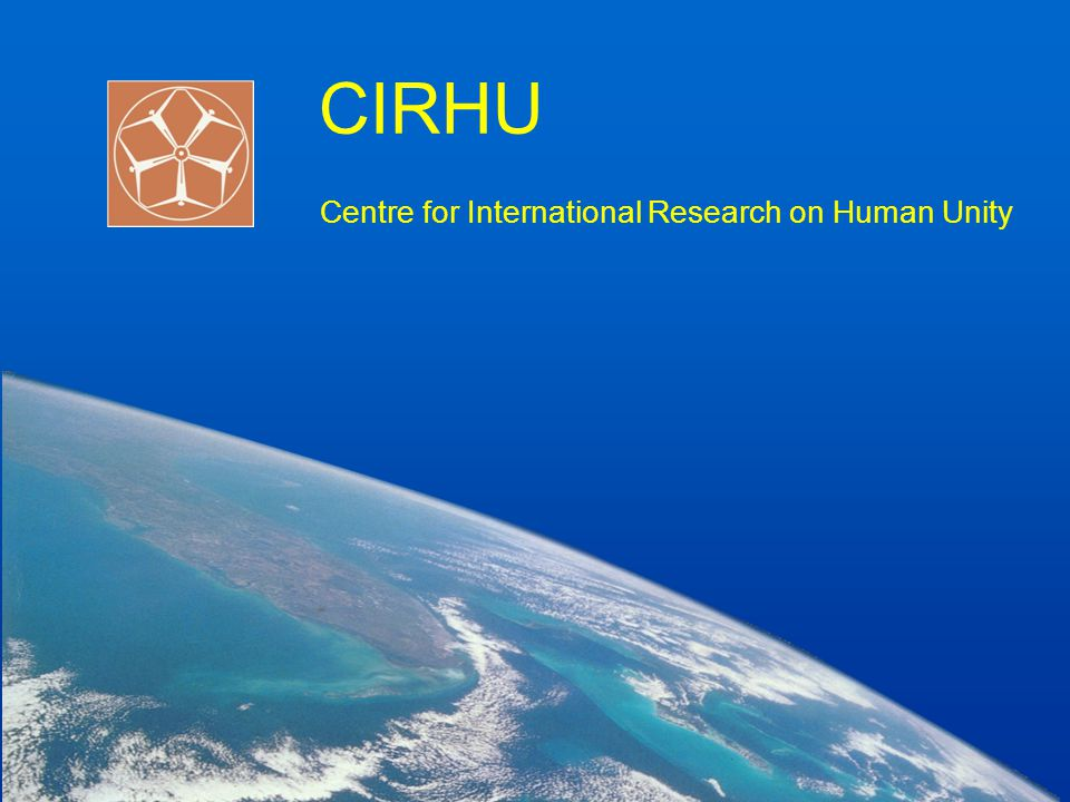 CIRHU Centre for International Research on Human Unity