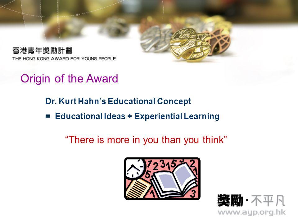 Dr. Kurt Hahn - Educational Ideas - Experiential Learning