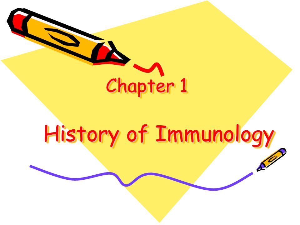 Chapter 1 History of Immunology