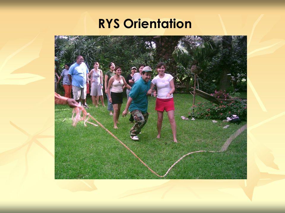 RYS Orientation