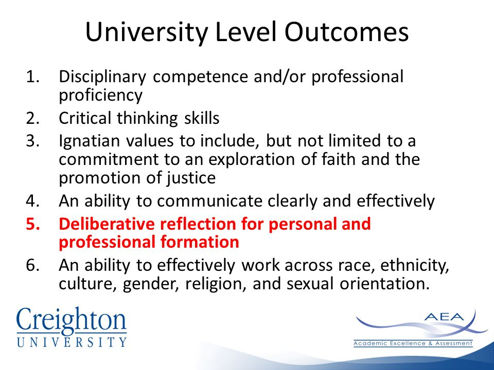 Deliberative reflection for personal and professional formation What does this mean to you?