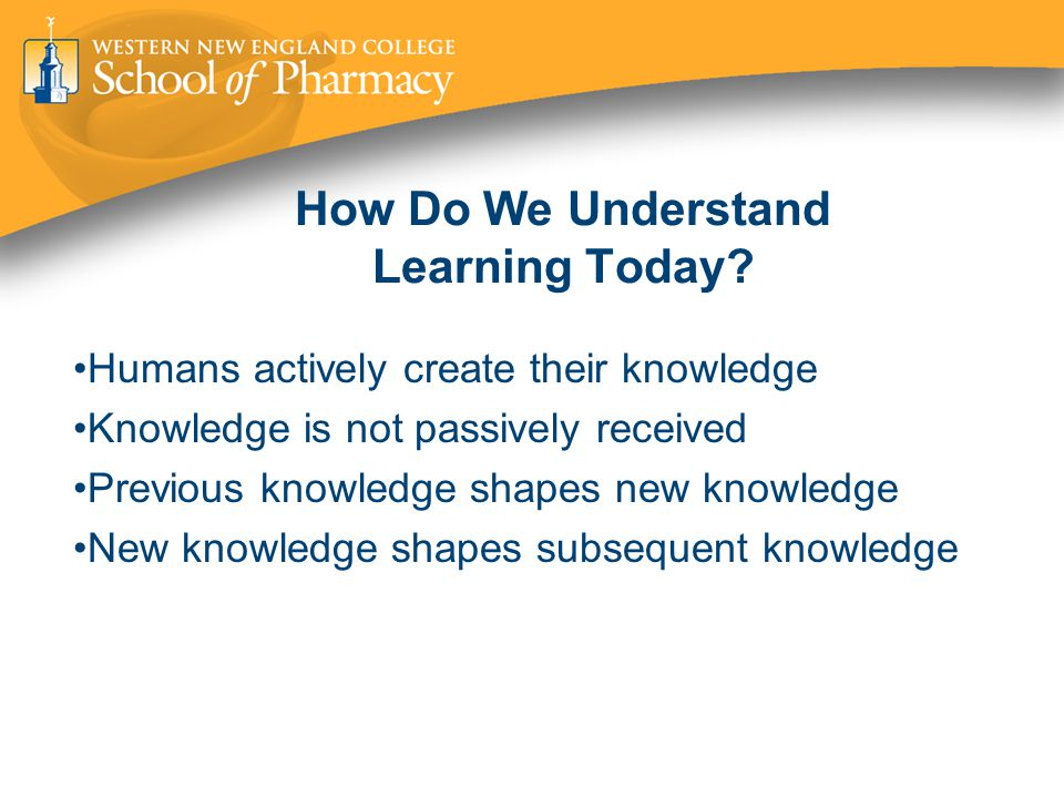 How Do We Understand Learning Today.