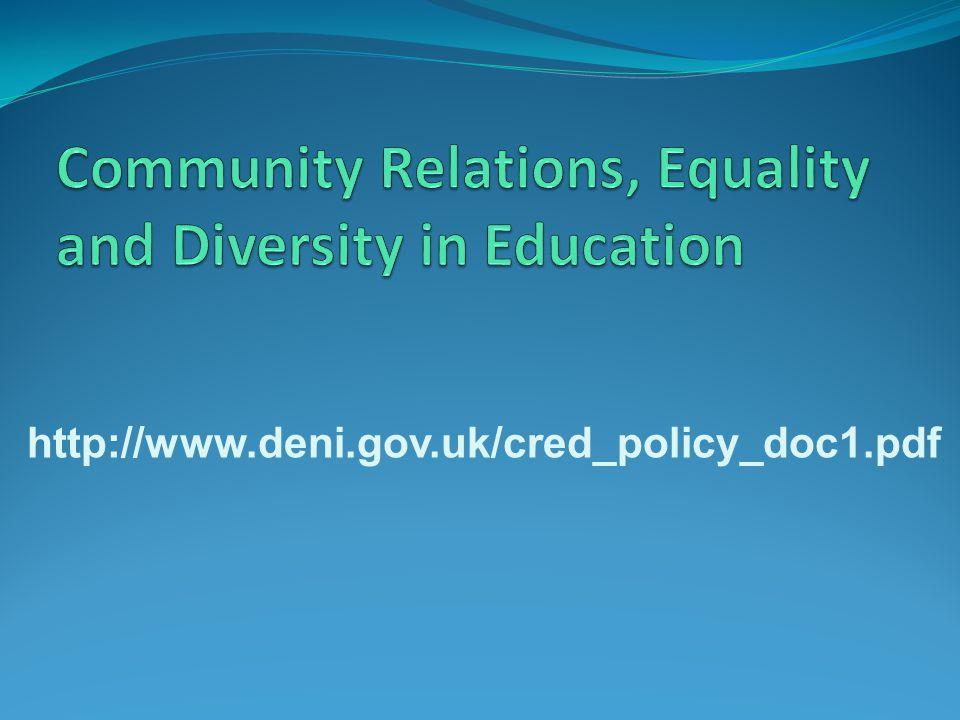 http://www.deni.gov.uk/cred_policy_doc1.pdf