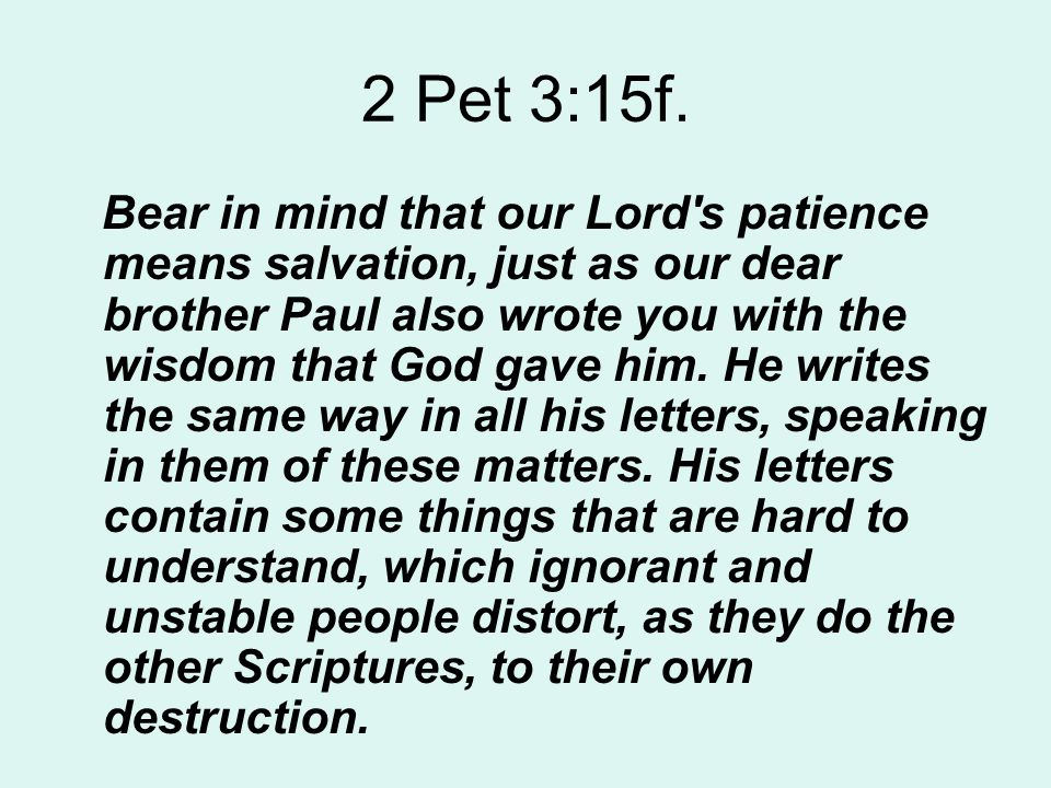 We believe that the Scriptures...1. are a revelation from God.
