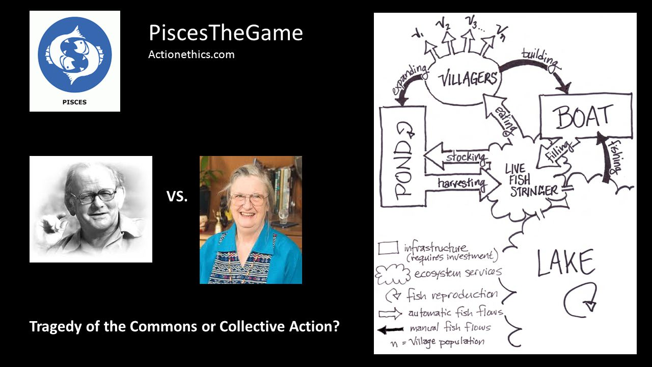 VS. PiscesTheGame Actionethics.com Tragedy of the Commons or Collective Action?