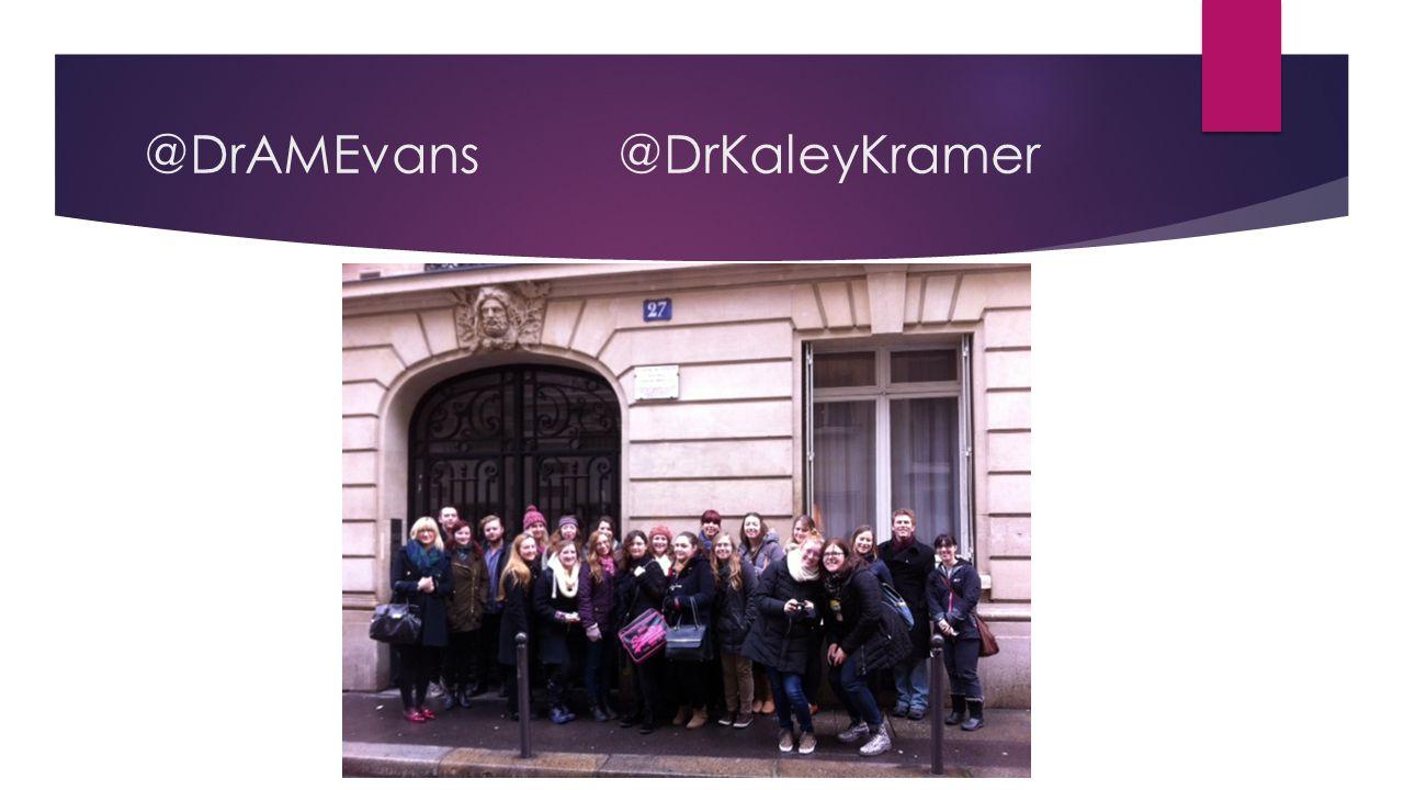 @DrAMEvans@DrKaleyKramer