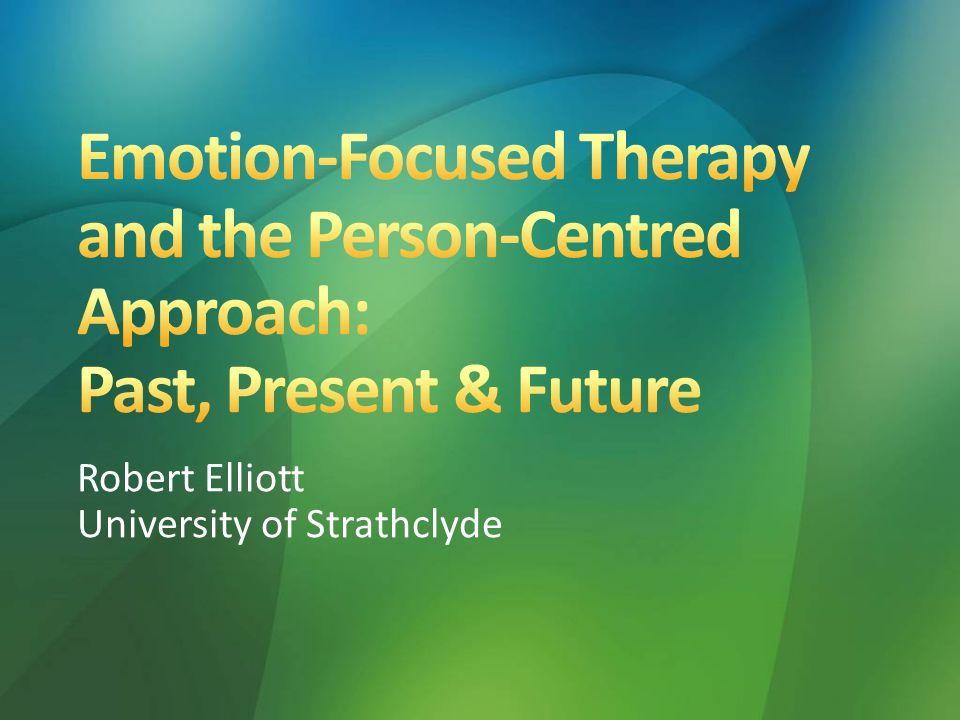Robert Elliott University of Strathclyde