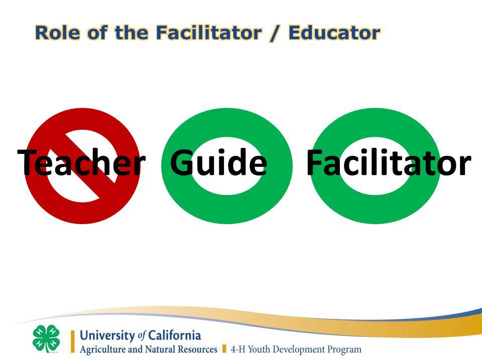 TeacherGuide Facilitator