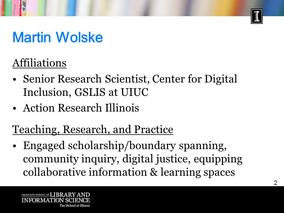 13 How can the Community Informatics Studio be understood as a model of experiential learning to support LIS teaching, research, and practice?