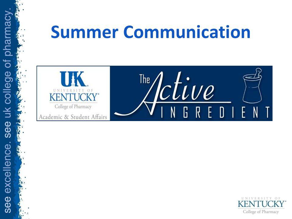 Summer Communication