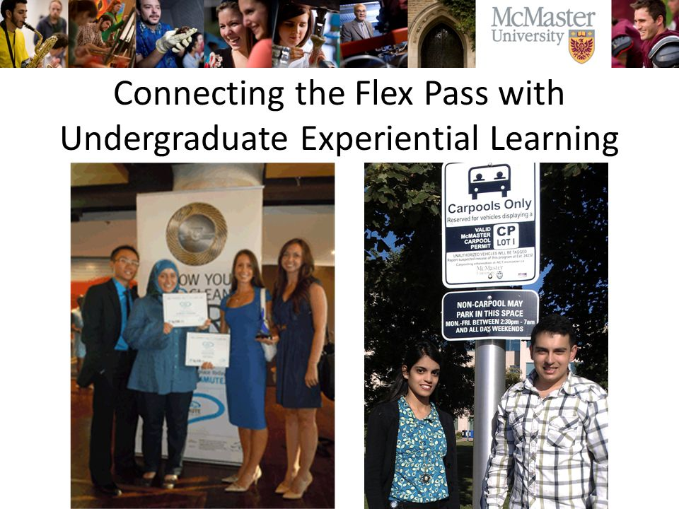 Connecting the Flex Pass with Undergraduate Experiential Learning