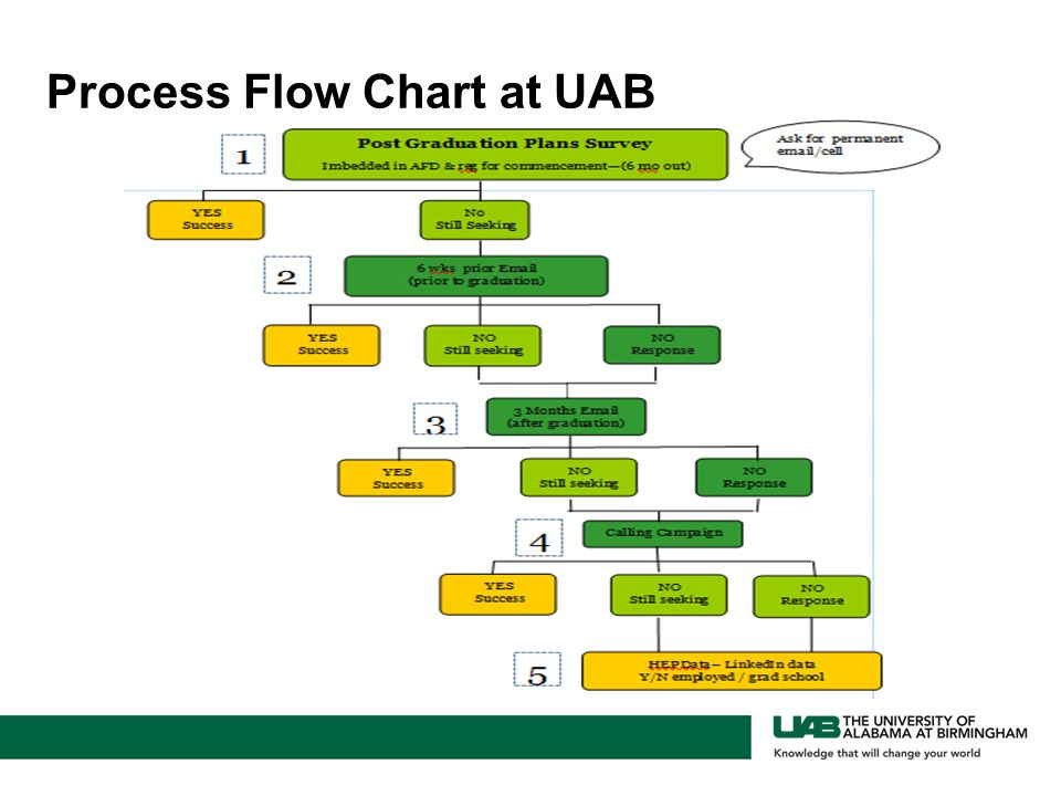 Process Flow Chart at UAB