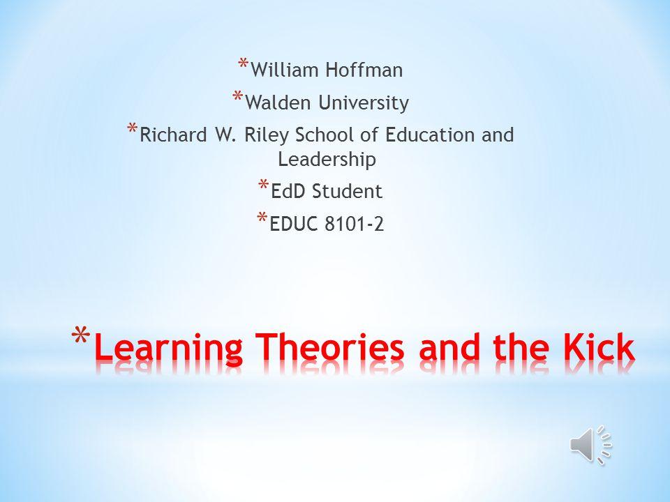 * William Hoffman * Walden University * Richard W.