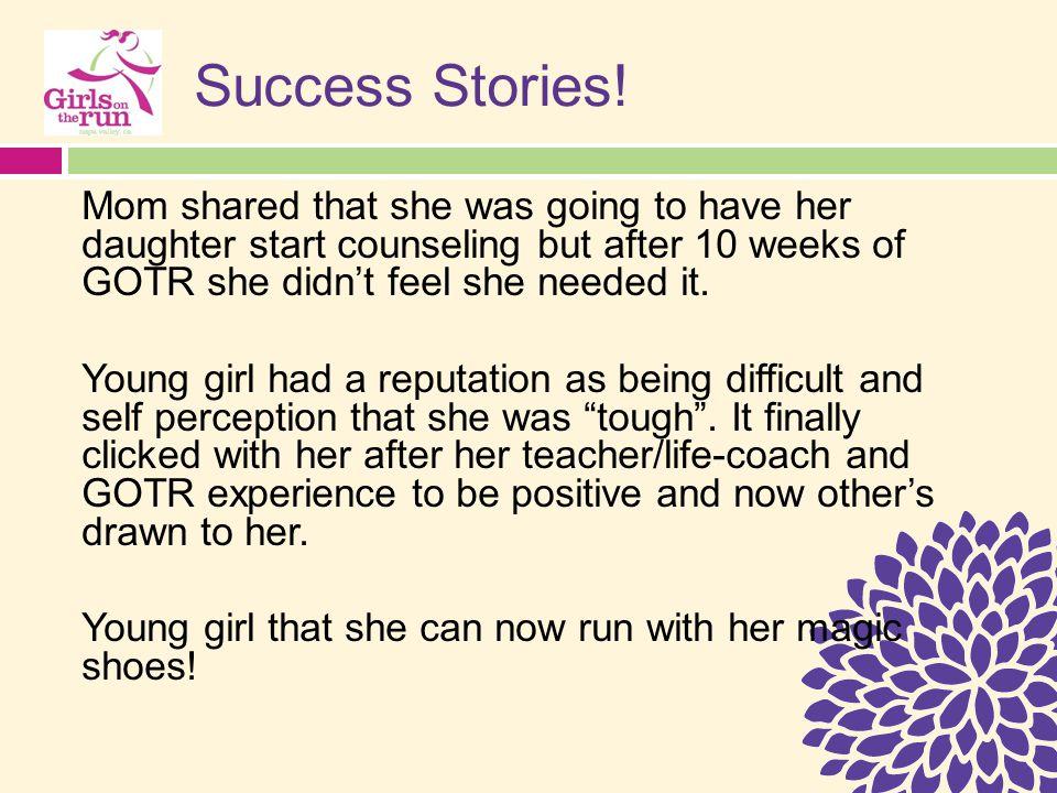 Success Stories.