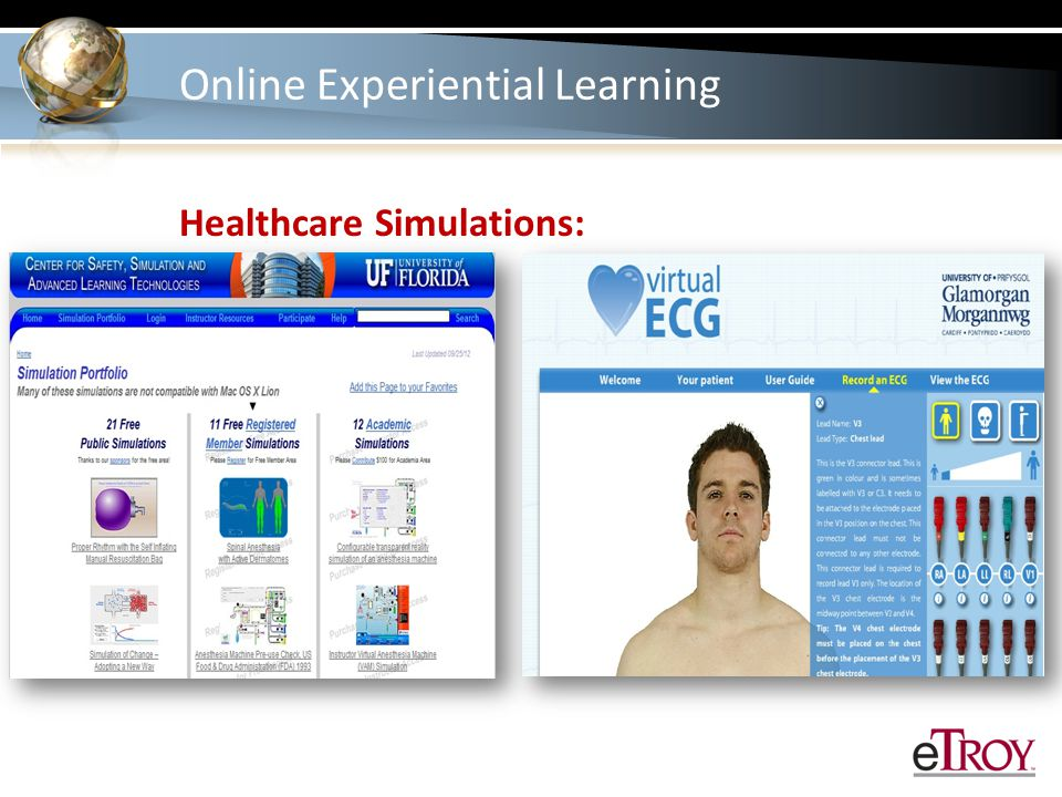 Healthcare Simulations:
