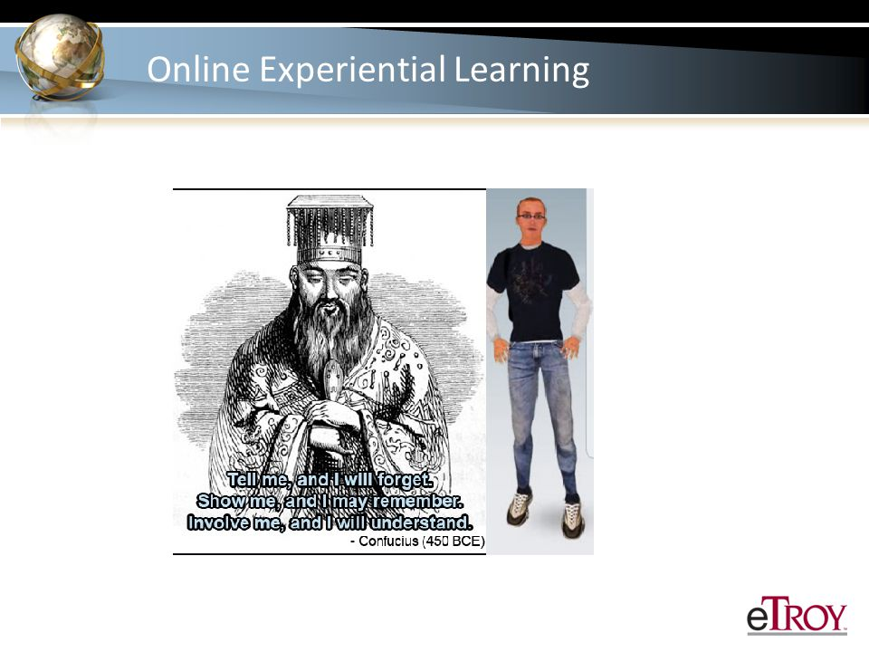 References Craig, S.(1997). What is experiential learning.