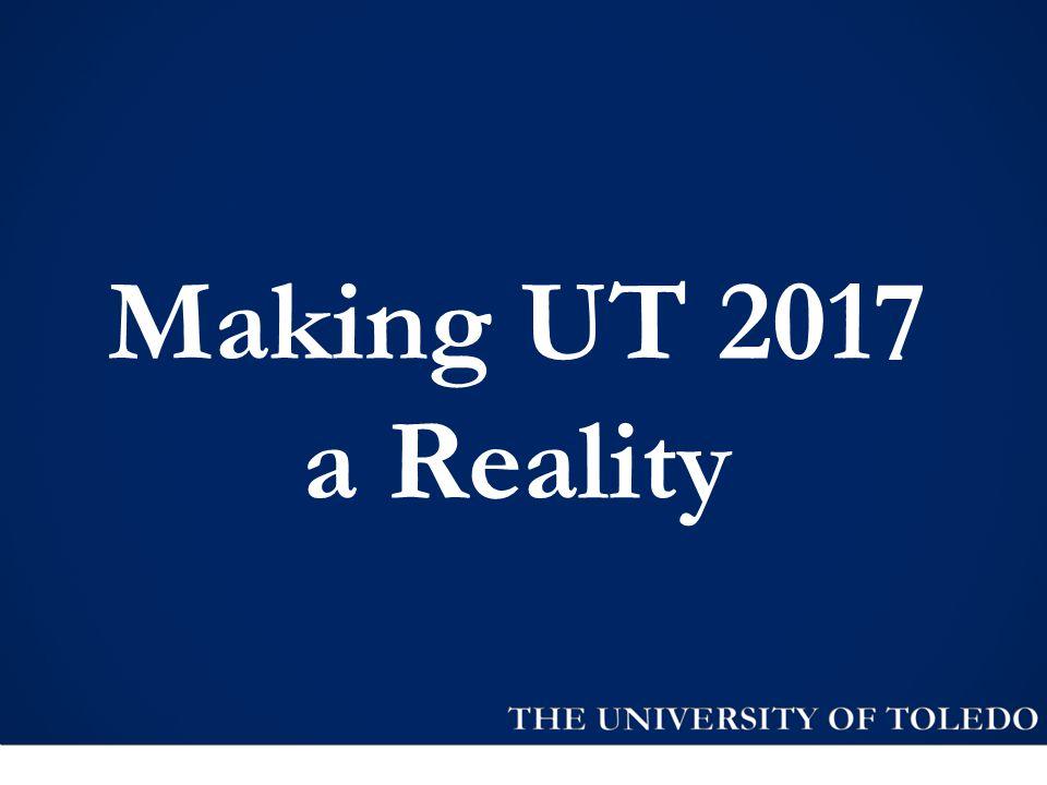 Making UT 2017 a Reality