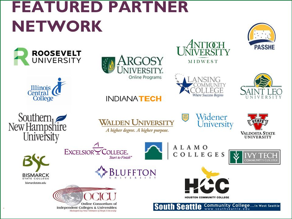 21 FEATURED PARTNER NETWORK LEARNINGCOUNTS.ORG