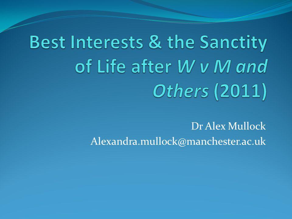Dr Alex Mullock Alexandra.mullock@manchester.ac.uk
