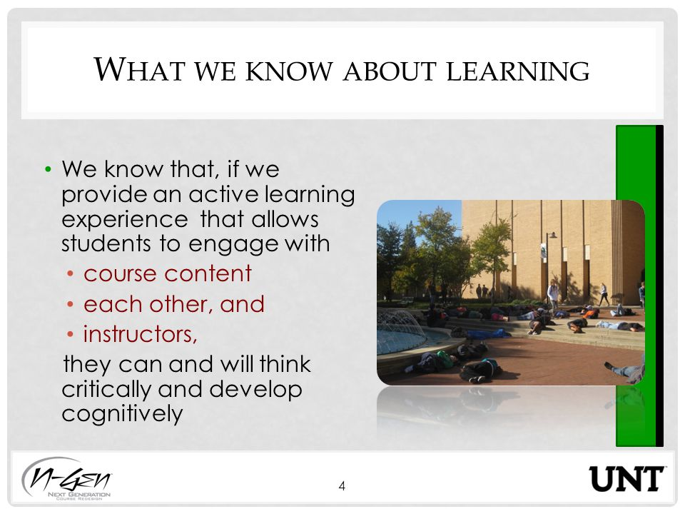 D EVELOPING SUCCESSFUL EXPERIENTIAL LEARNING ACTIVITIES 15 See handout