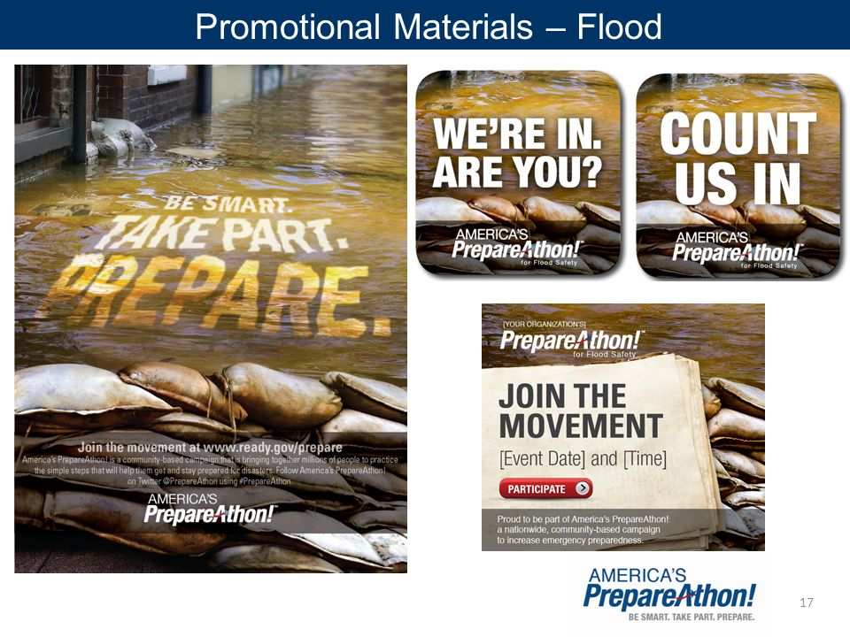 17 Promotional Materials – Flood
