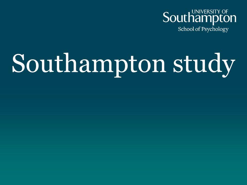 Southampton study