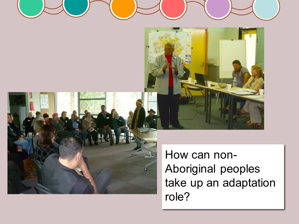 Working with cultural protocols, Nyoongar way Working within dynamics of the community, Nyoongar way Working with cultural protocols, Nyoongar way Working within dynamics of the community, Nyoongar way
