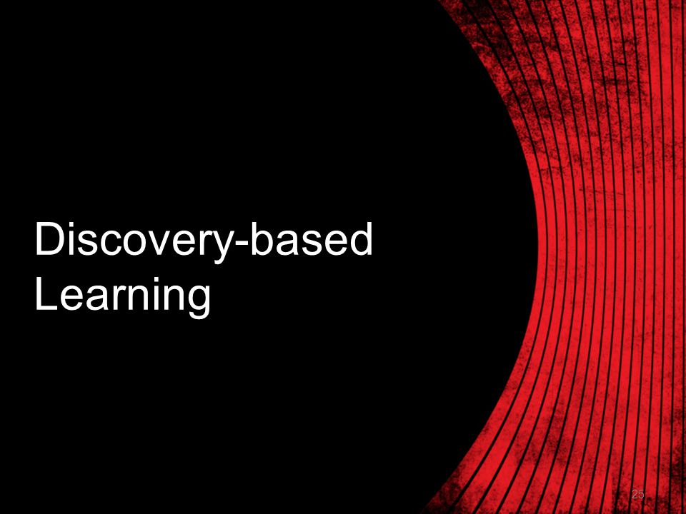 25 Discovery-based Learning
