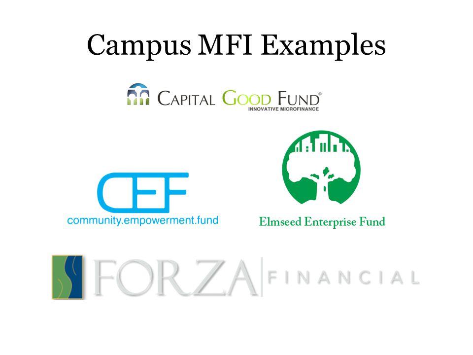 Campus MFI Examples